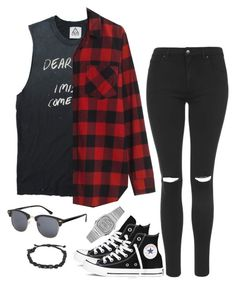 """""""Untitled #11"""" by mikasma ❤ liked on Polyvore featuring Topshop, Converse, Madewell, Casio and ASOS"""