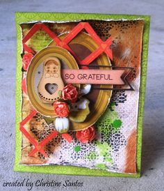 So Grateful Card - In The Attic Collection