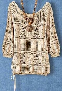 This Pin was discovered by C C Crochet Socks, Crochet Jacket, Crochet Cardigan, Crochet Clothes, Crochet Top, Lace Outfit, Crochet Woman, Crochet Designs, Boho Outfits