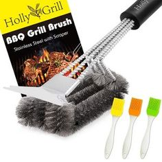 Red Heat-Resistant FDA-Approved BPA-Free Barbecue Brushes ready to spread the love across your favorite grilled foods Grill-Time BBQ Grilling Silicone Basting 14 Brushes 2-Pack