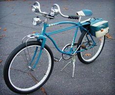 tri-headlight bike