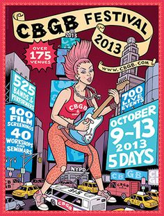 『CBGB』=『Country, Blue Grass, and Blues』 http://www.cbgb.com