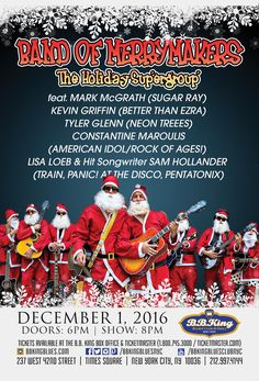 Band of Merrymakers feat. Mark McGrath, Kevin Griffin & More! (12.1.16)