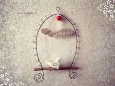 ---------------------------------------------- Lovely idea for a hummingbird swing!