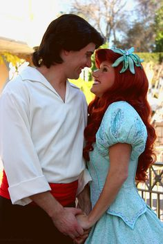 Prince Eric and Ariel on Flickr. THE CUTEST COUPLE EVER!!!!!