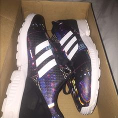 Brand New Sneakers, adida flux Adidas! Size 8 more like a nine in women! Adidas Shoes Sneakers