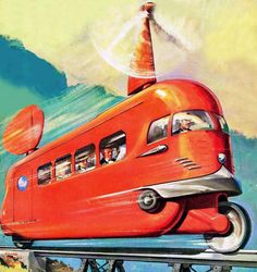 Retro futurismo Sci-Fi | Science Fiction vintage | #50s #60s