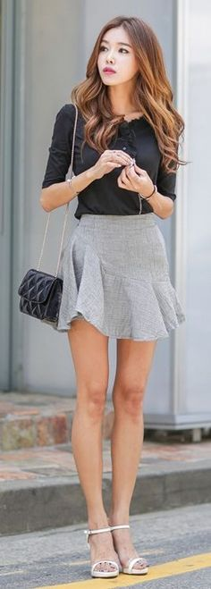 falda con short interno