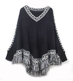 New Women Knitwear Tassels Loose Pullover Irregularity Cl... https://www.amazon.com/dp/B00O9WZFQ4/ref=cm_sw_r_pi_dp_U_x_mz-vAbV5EAGXA