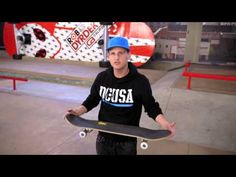 Rob Dyrdek Lunchables Uploaded Challenge:Skateboard