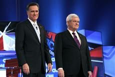 140 Headline: Newt's winning debate plan for Mitt. Caption: Gingrich, right, has been doling out advice for Romney over the last few weeks. Newt Gingrich, Im Weak, Front Runner, Usa Today, How To Plan, Caption, Advice, Tips