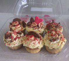 #cupcakes #vainilla #chocolate #oreo #cream #love #cute #delicious #hot
