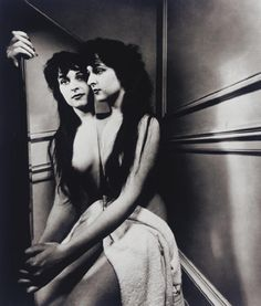 Artwork by Bill Brandt, Kismet and Mirror, Made of Silver print, dry-mounted to card Bill Brandt Photography, Mirror Photography, Figure Photography, Portrait Photography, Street Photography, Creative Photography, White Photography, Shooting Photo, Poses