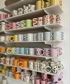 My New Room, My Room, Keramik Design, Aesthetic Room Decor, Cute Mugs, Pretty Mugs, Home And Deco, Clay Crafts, Room Inspiration