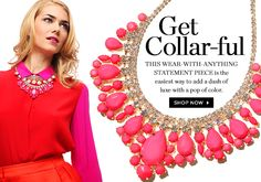 Get Collar-ful With This Collection Of Bright Statement Necklaces!