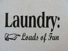 Laundry: love it or hate it?