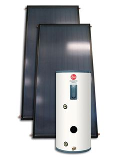 Solar water heater by Rheem solar in a box.  This should be on all of wish lists