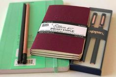 Pens, Notebooks, Pencils, and the best stationery goods available.