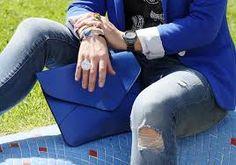 blazer azul zara - Buscar con Google