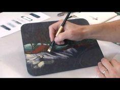 ▶ Peindre la neige - Anne-Marie Boisvert - YouTube