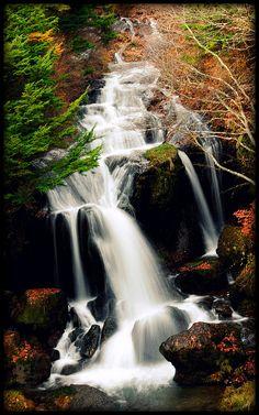 Ryuzu Falls, Nikko, Japan