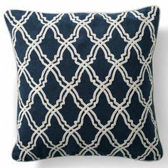 Fretwork Dori Throw Pillow