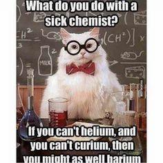 #LOL #SoupAndTea #Humor #NerdHumor #Jokes #Sick #EverythingHurts #OutOfNoWhere #Laughs #Ig #Iger #IgAddict #InstaMeme #PictureOfTheDay #Instadaily #Cats #InstaCats #Science #Chemist #Funny
