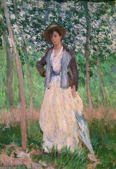 Claude Monet - The Stroller, 1887