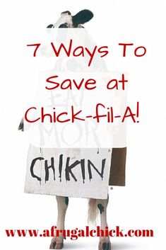 Ways To Save at Chick-fil-A- Check out these 7 simple ways to save at Chick-fil-A! Restaurant Deals, Restaurant Coupons, Ways To Save Money, Money Saving Tips, How To Make Money, Easy Family Meals, Frugal Meals, Easy Meals, Budget Meal Planning