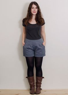 Pretty sewing patterns - Chataigne shorts (Deer and Doe)