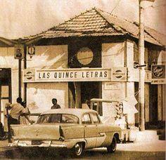 Las Quince Letras, Restaurant Macuto, Litoral Central, Venezuela-1950, photo/capino