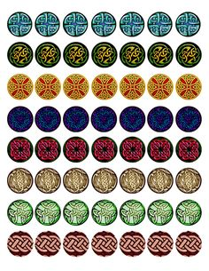 CELTIC II Bottle Cap Image pack