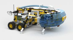 Newest addition to my upcomming app BUSUFL for LEGO LDD: photorealistic animated gif - stay tuned for more #bublible #lego #busufl