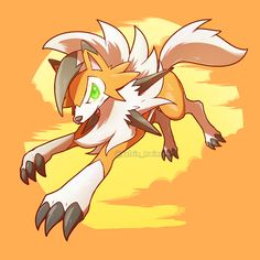Dusk Form Lycanroc by Kelvin Trainrk