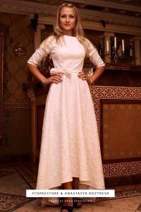 """Свадебное платье со шлейфом """"Настасья"""""""