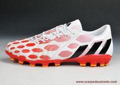 scarpe calcio Bianco/Rosso AG ADIDAS PRossoator Instinct