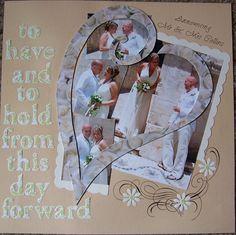 Making A Bridal Shower Scrapbook – Scrapbooking Fun! Wedding Scrapbook Pages, Bridal Shower Scrapbook, Birthday Scrapbook, Scrapbook Albums, Scrapbooking Layouts, Scrapbook Cards, Scrapbook Paper Crafts, Scrapbook Supplies, Scrapbook Examples