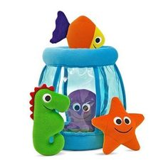 Fishbowl Fill and Spill Plush Toy Set by Melissa and Doug. $27.99