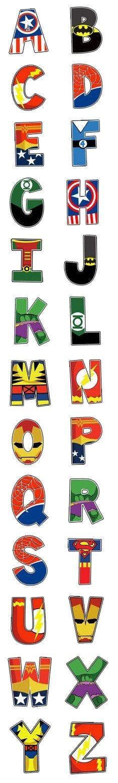 Alfabeto superhéroes                                                                                           Más