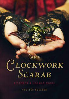 The Clockwork Scarab (Stoker & Holmes, #1)