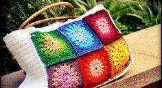 18 Ideias para Você Fazer Bolsas de Crochê 8 - Artesanato passo a passo!