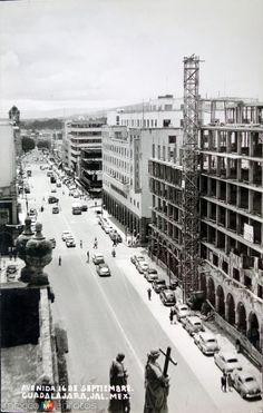 Avenida 16 de Septiembre Entre 1930-1950