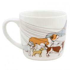 Dog Walker Mug - Novelty Mugs - Patterns & Collections