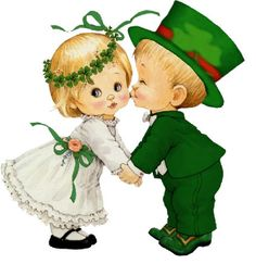 Celebrate Each New Day : St Patricks Day Cards, Happy St Patricks Day, Cute Clipart, St Paddys Day, Gif Animé, St Pattys, Leprechaun, Christmas Art, Illustrations