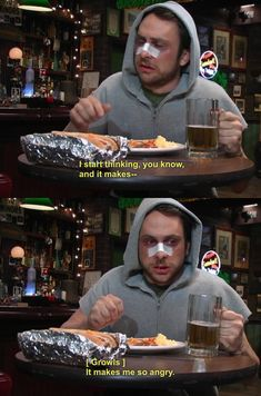 Charlie Kelly Internet dating