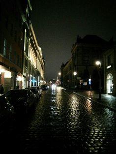 #POZnań by Night - #ulica #Paderewskiego #noc