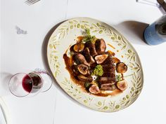 Roast Duck with Ruby Port and Figs
