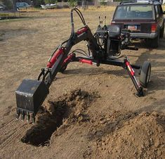 Loaders, Backhoes for garden tractors, log splitters. Small Tractors, Compact Tractors, Small Garden Tractor, John Deere Garden Tractors, Homemade Tractor, Tractor Loader, Mini Excavator, Small Ponds, Welding Projects