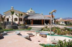Trade winds from the tranquil Sea of Cortez cool the casa and patios.