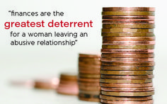 How finances can hold women back from leaving abusive relationships. How we can help. Women's Economic Empowerment is Vital for Ending Domestic Abuse
